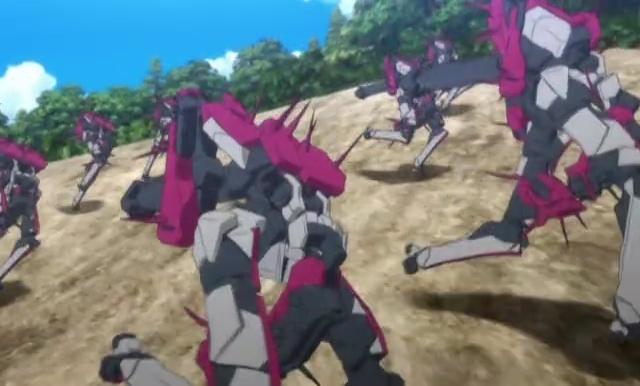 クロム01-⑭敵ロボット集団