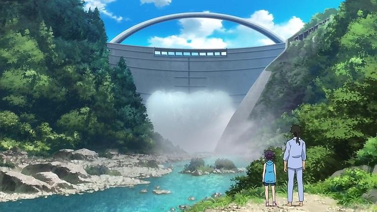クロム03-⑥黒部ダム放水