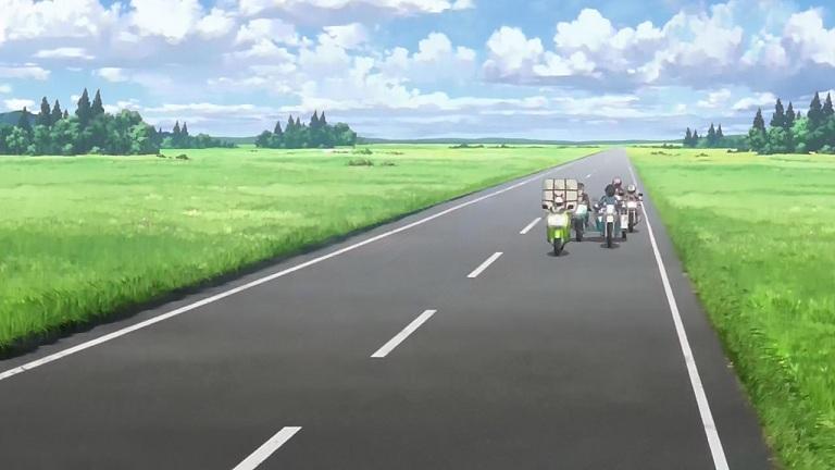 ばくおん05-③直線道路