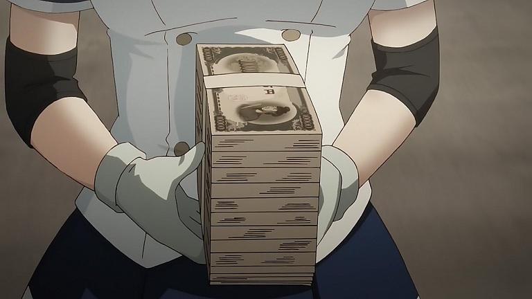ばくおん06-⑯札束