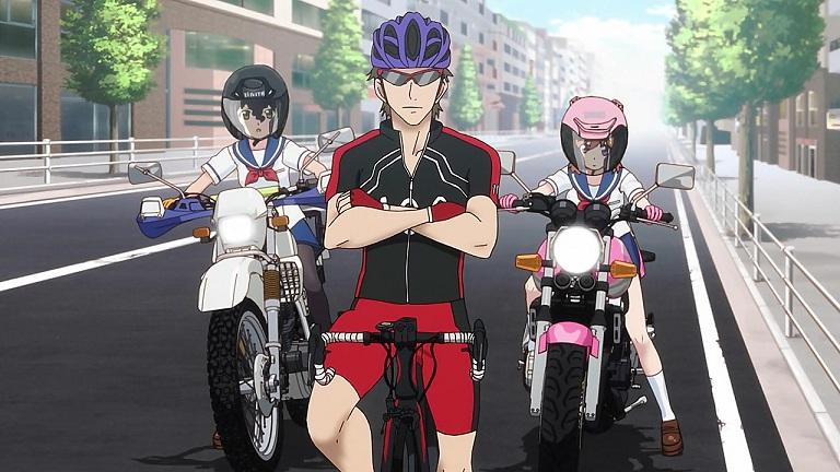 ばくおん11-③羽音と恩紗と自転車