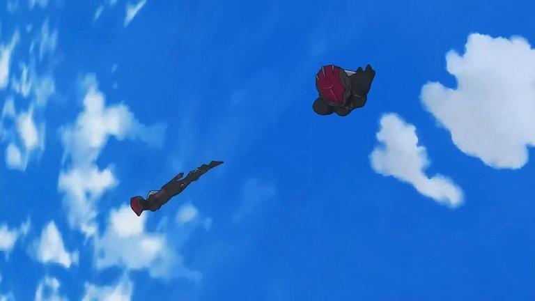 クロム16-②大気圏突破