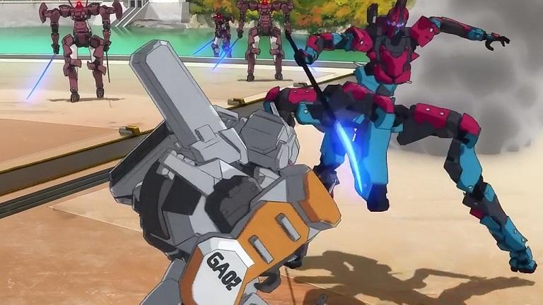 クロム21-⑪ガウス2対スパイダー