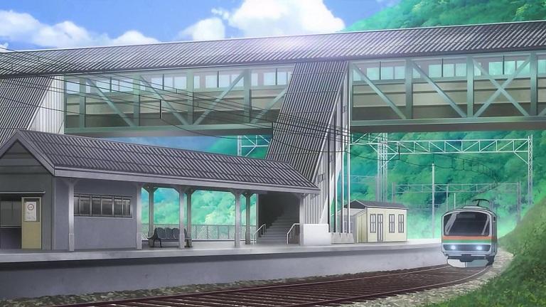 ラブサン07-⑬駅舎