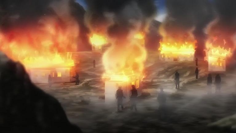 アルデラミン09-⑤燃える集落